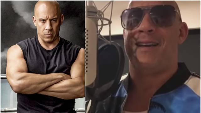 Vin Diesel se primio mikrofona: Poslušajte kako pjeva macho tip