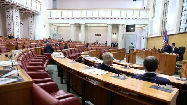 Zagreb: Rasprava u proglašenju Dana bez mobitela nije izazavala interes u sabornici