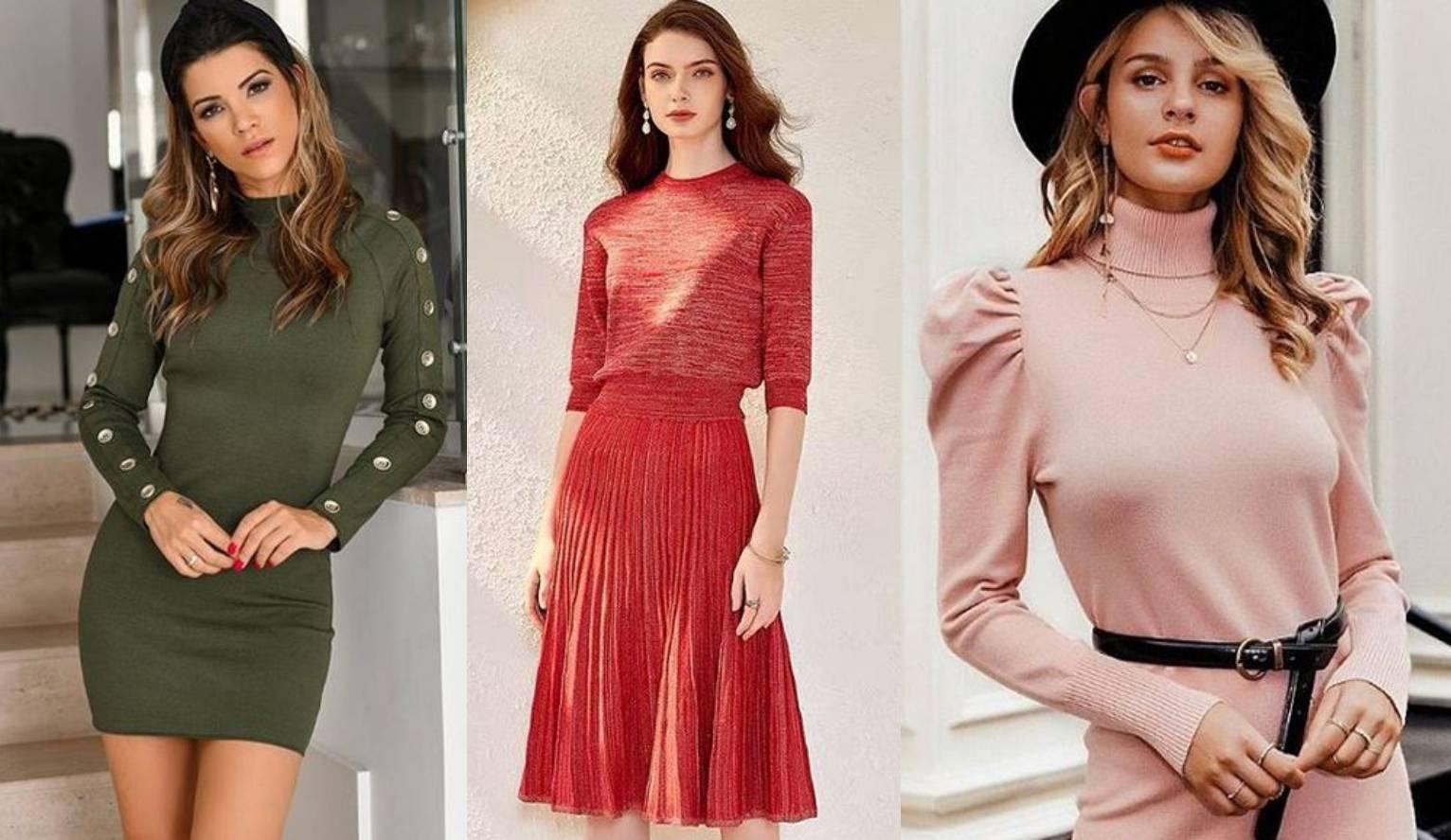 Praktična i udobna: Pletena haljina jedan je od hitova jeseni