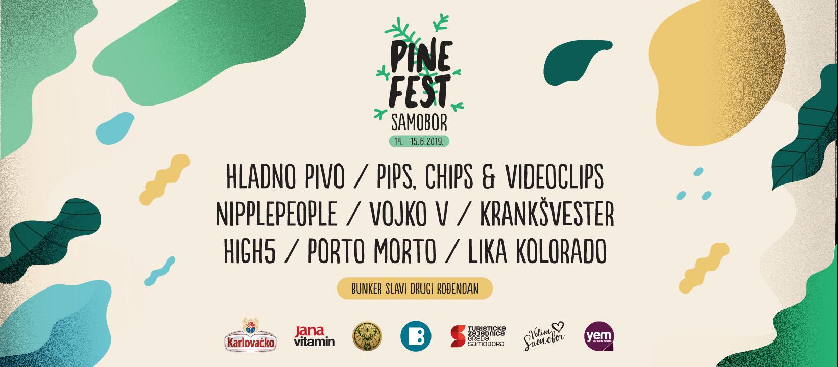 Pipsi i Nipplepeople novi na popisu izvođača Pine Festa