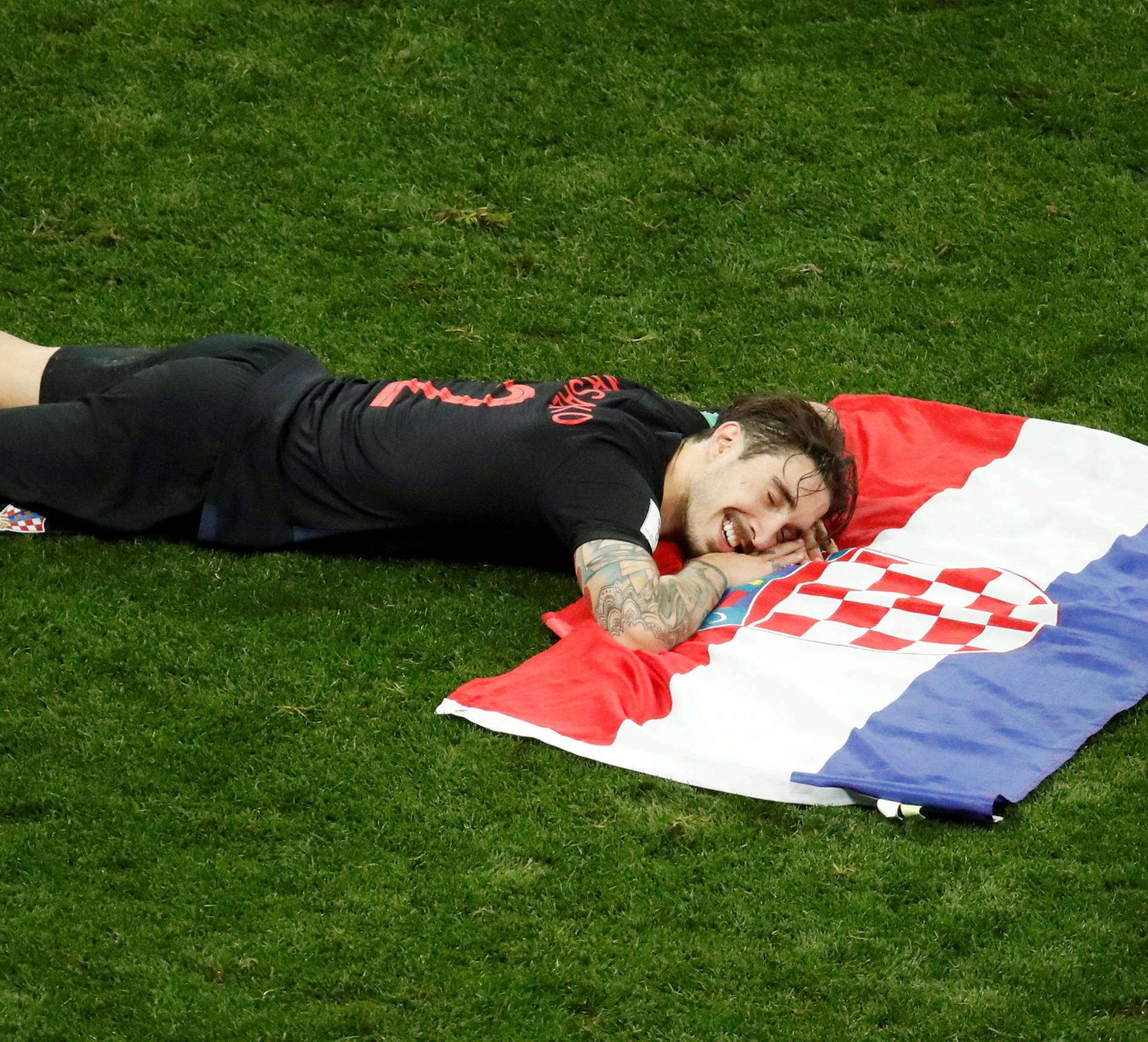 FILE PHOTO: World Cup - Semi Final -  Croatia v England