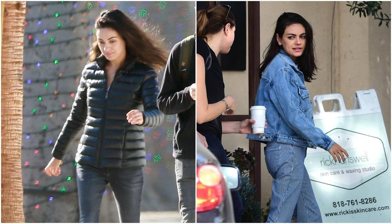Ulovili ju paparazzi: Kunis šeta po Los Angelesu bez šminke...