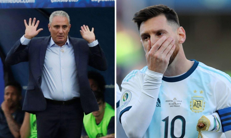 Tite: 'Izvanzemaljac' Messi bi trebao ostati častan i u porazu
