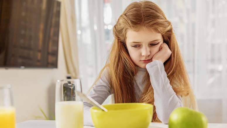 Što ako vam dijete vrlo slabo i neredovito jede?