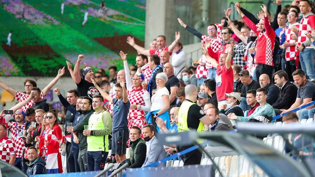 Utakmica četvrtfinala Europskog U21 prvesntva između Španjolske i Hrvatske