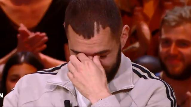 Benzema u suzama: Zaplakao nakon što je vidio slike djece