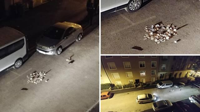 Nakon pljačke ispao im 'plijen': Na ulici bila hrpa novca i oružje