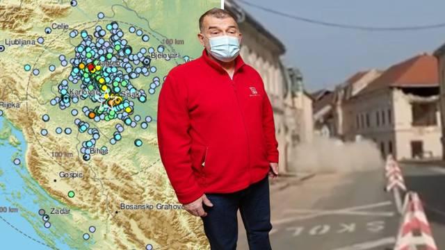 'Potresi će trajati mjesecima. Zgrade u Petrinji? Očekivali smo da će se neki dijelovi odlomiti'