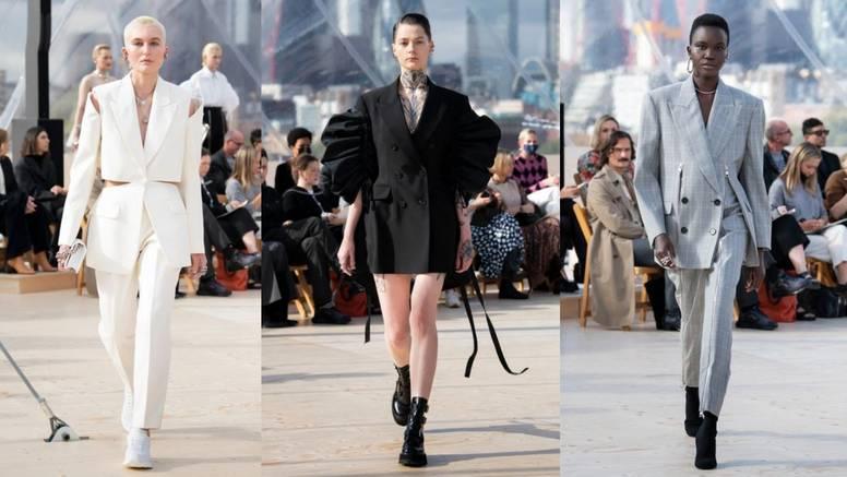 Alexander McQueen kolekcija: Sako kao stilski eksperiment