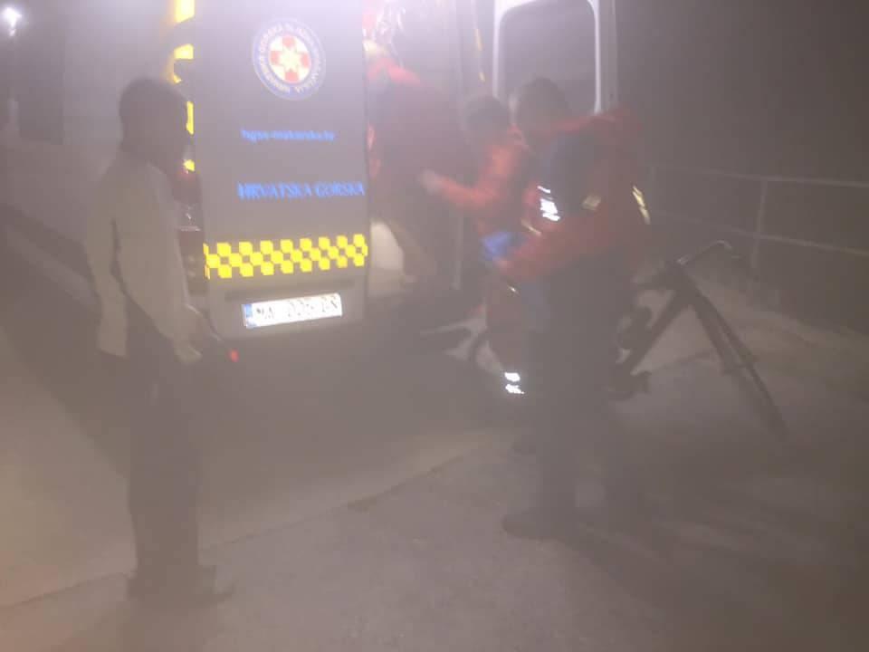 HGSS spasio Poljaka: Popeo se na Biokovo, uhvatila ga panika