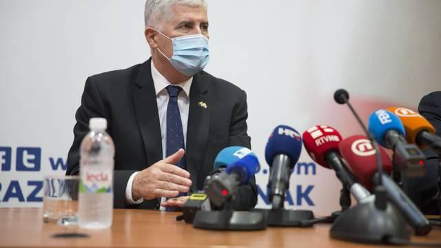 Hrvatski premijer Plenković u Mostaru se susreo s Čovićem