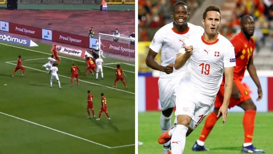 Švicarska na Dinamov pogon! Gavranović je namučio Belgijce