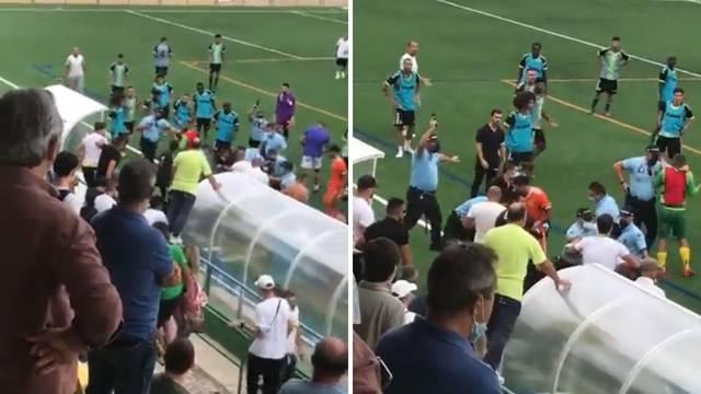 Kaos u Portugalu: Policajci su pucali na nogometnoj utakmici