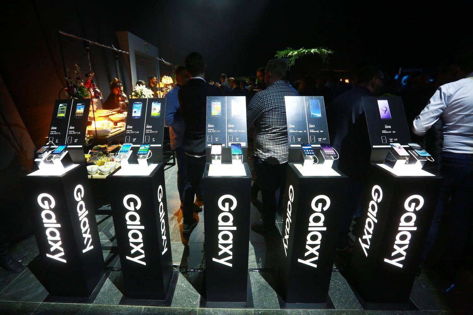 Zagreb: Svečano predstavljen novi Samsung S10+ smartphone