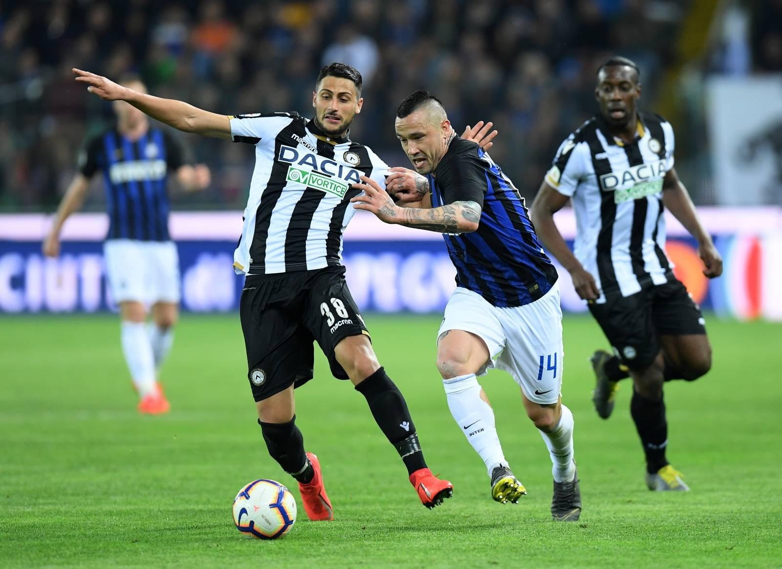 Serie A - Udinese v Inter Milan