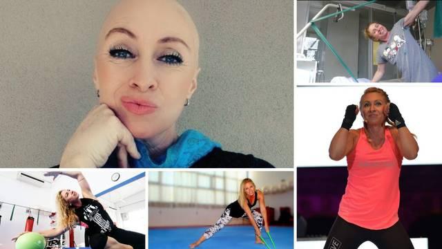 Trenerica iz Pule: 'Treniram i kad sam na kemoterapiji, a u bolnici vježbam na steperu'