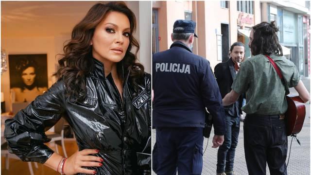 Badrić uživala u svirci, a kasnije je morala intervenirati i policija