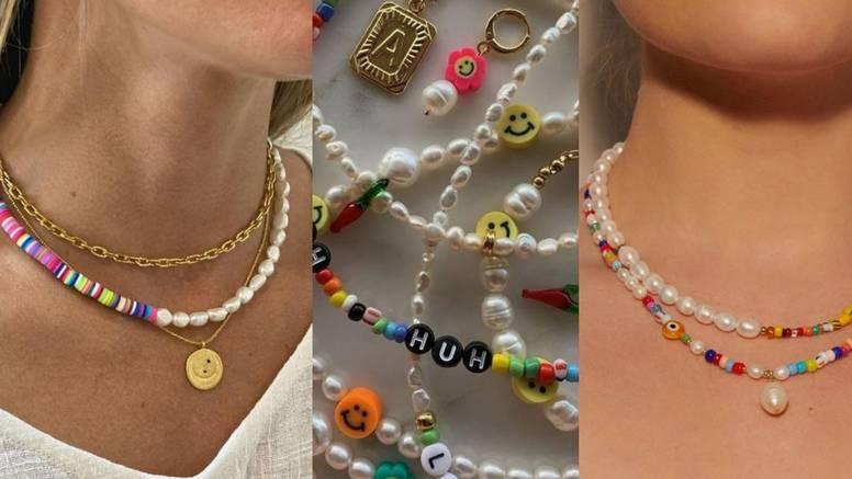 Boje kao simbol odmora: Nakit jarkih boja u znaku malih perli