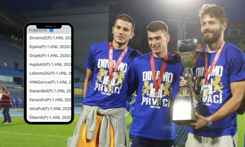 Dinamo veliki favorit kladionica za osvajanje HNL-a, Osijek drugi