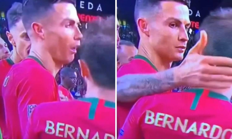 Pogledajte Ronaldovu facu kad je saznao da nije najbolji igrač