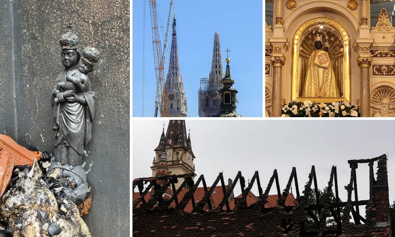 Slučajnost? Zagreb je 1880. i 2020. pogodio potres, a Mariju Bistricu istih godina - požar!