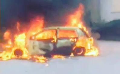 Planuo je auto u Karlovcu: U požaru nema ozlijeđenih