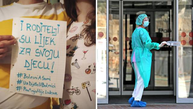 Tate: Želimo biti podrška na porodu! Bolnice: Virus još hara!