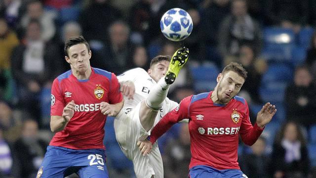 REAL MADRID v CSKA MOSCU. UEFA CHAMPIONS LEAGUE 2018/2019. ROUND 6