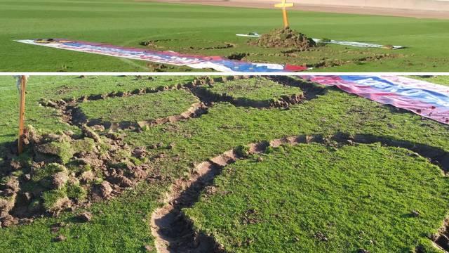 Skandal u Sloveniji: Huligani su iskopali grob na centru terena