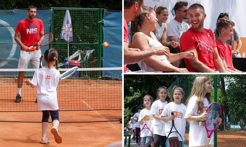 Čak 20 Grand Slamova na istom mjestu u isto vrijeme: Djeca su oduševljena, došli i nogometaši