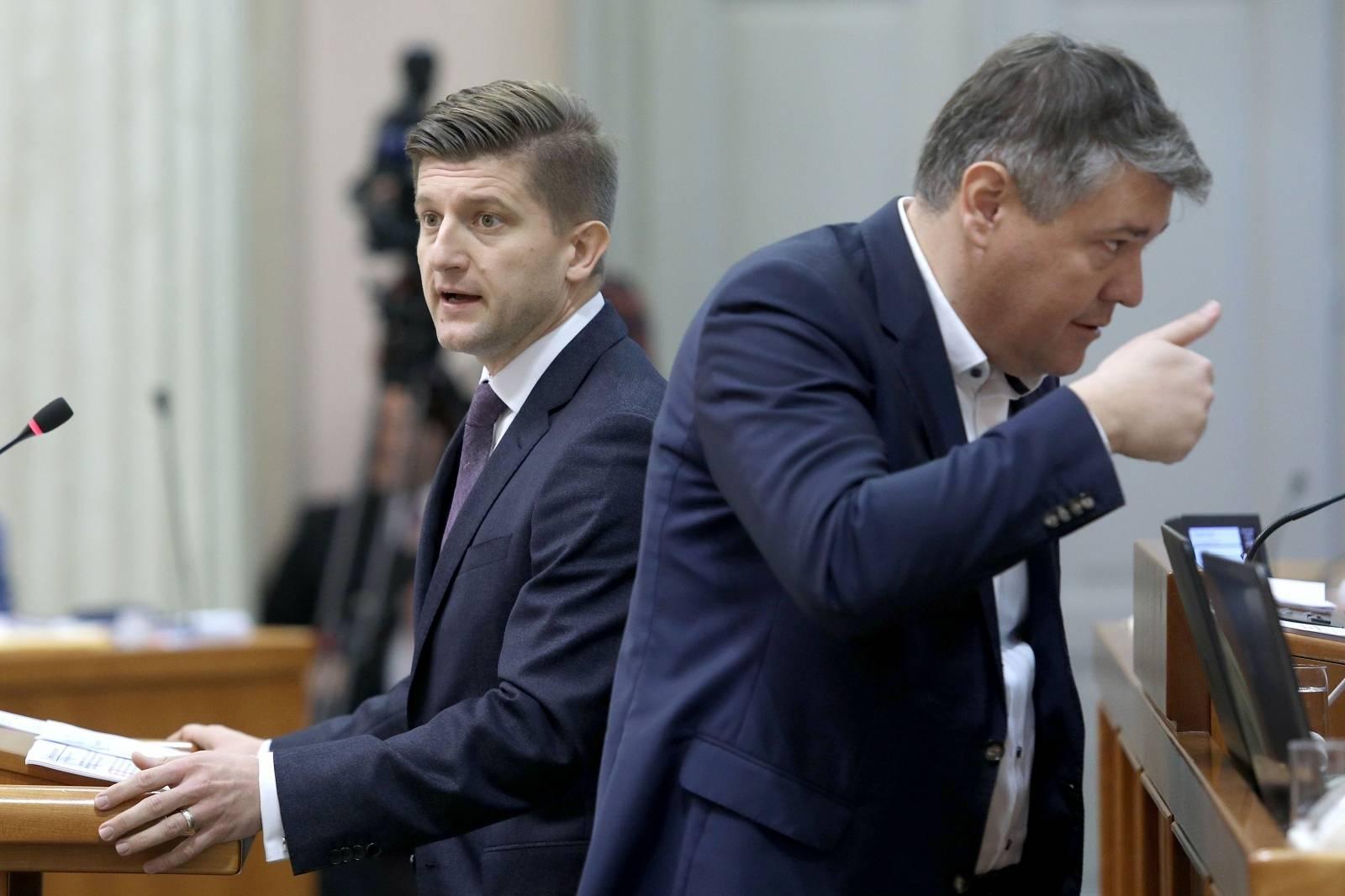 Zagreb: Rasprava u Saboru o novom paketu poreznih zakona