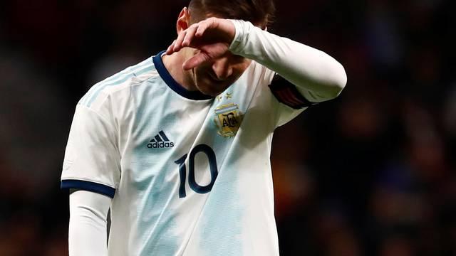 International Friendly - Argentina v Venezuela