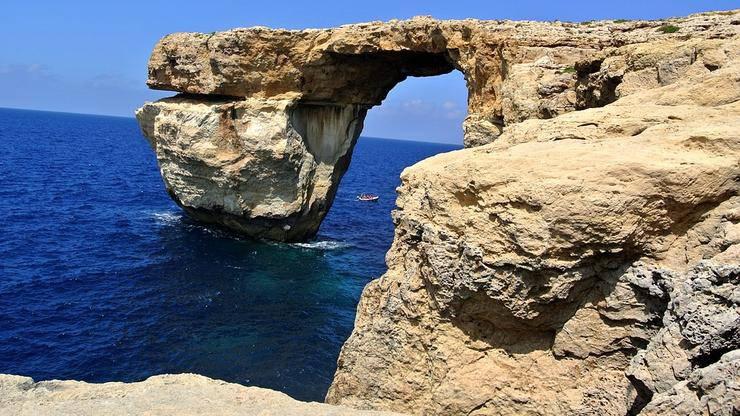 Azurni prozor na Malti