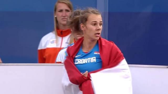 Senzacionalna Sara hrvatskim rekordom do bronce na Euru!