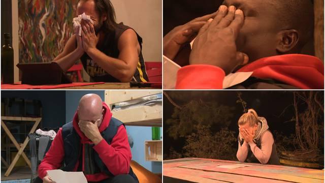 Finalisti su dobili poruke svojih najmilijih: Tekli su potoci suza