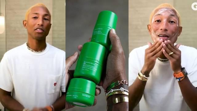 Od kreme do čistača: Pharrell Williams predstavio je liniju za njegu s vlastitim potpisom