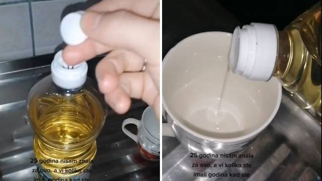 Video je podijelio internet - zar čep na ulju zaista služi tome?