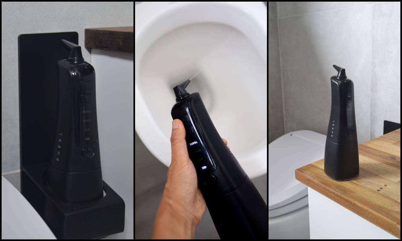 Jednostavan gadget 'Burbl' čisti wc školjku bez kemikalija