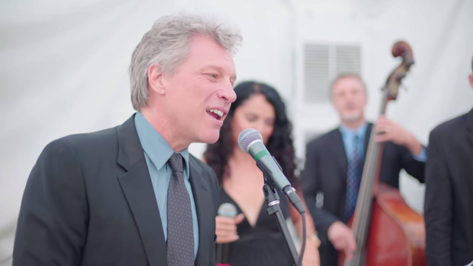 Video: Jon Bon Jovi nerado, ali ipak pristao pjevati na svadbi