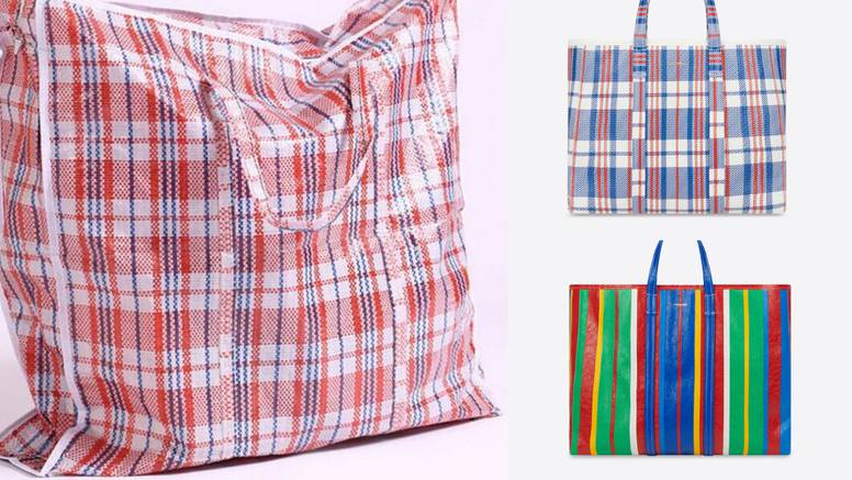 Balenciaga ima torbu koja sliči na plastičnu vrećicu za šoping - brendirana košta oko 9000 kn