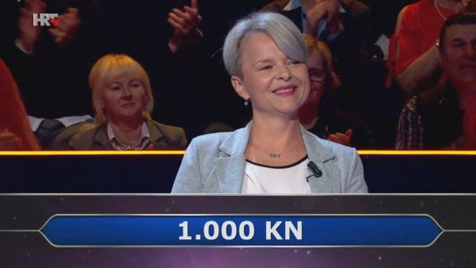 Manuela nije poslušala džokera već intuiciju pa uzela 1.000 kn