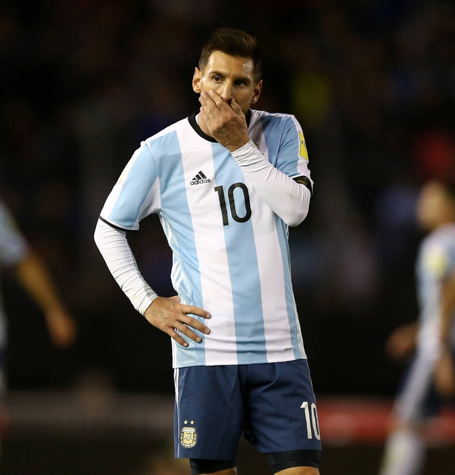 Soccer Football - 2018 World Cup Qualifiers - Argentina v Venezuela - Monumental stadium, Buenos Aires, Argentina
