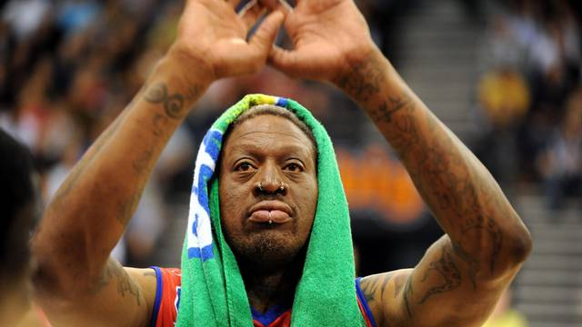 Basketball - Former NBA star Dennis Rodman