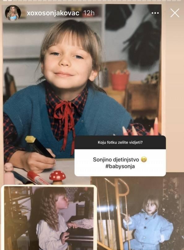 Sonja Kovač pokazala kako je izgledala u školi i na fakultetu