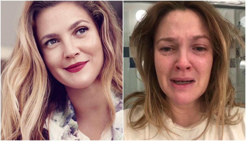 Uplakana Drew Barrymore: 'Neki dani su mi ružni i teški...'