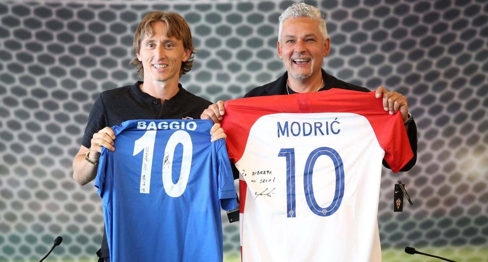 Opatija: Roberto Baggio na predstavljanju nogometnog kampa za djecu