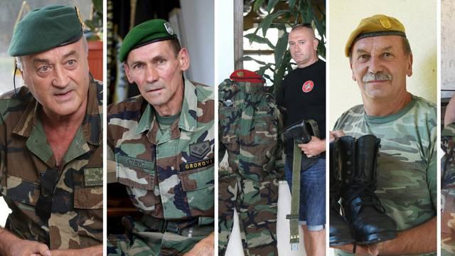 Brižno ih čuvaju: U ovim smo uniformama branili Hrvatsku