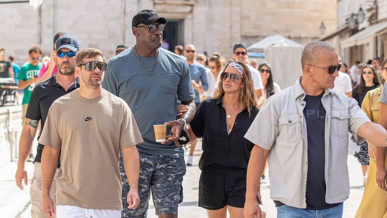Jordan i supruga u Dubrovniku izazvali kaos, tjelohranitelji ih 'branili' od uzbuđenih fanova