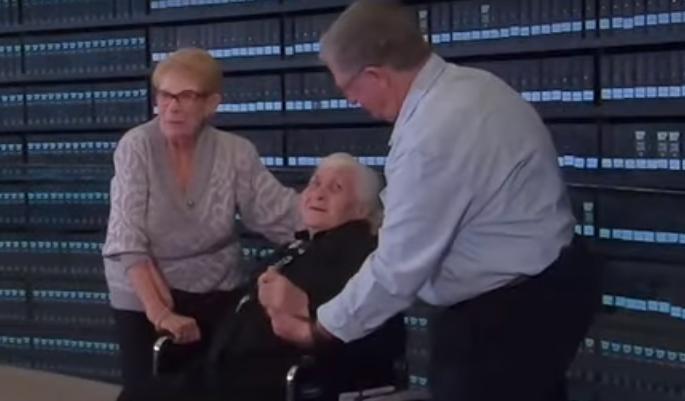 Vidjela ženu koja ju je spasila od nacista, svi su zaplakali...