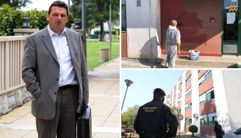 Osvanuo grafit šefu Doma za starije u Splitu: 'HDZ-ov logor'